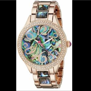 Women's Analog Display Quartz Rose Gold-Tone Watch